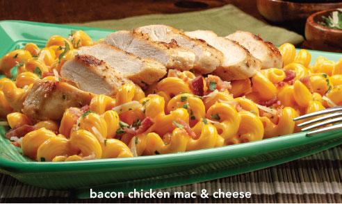 Bacon Chicken Mac & Cheese